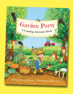 photo of book Garden Party A Counting Adventure Book
