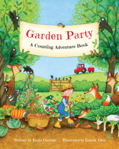 photo of the book Garden Party A Counting Adventure Book